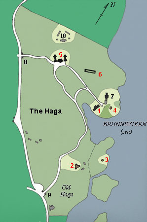 plan of Haga